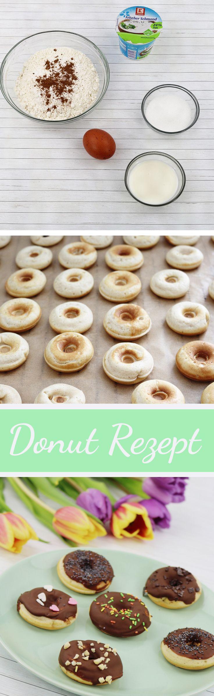 Donuts selber machen | Donut Rezept | Donuts aus dem Donut Maker | DIY Donuts