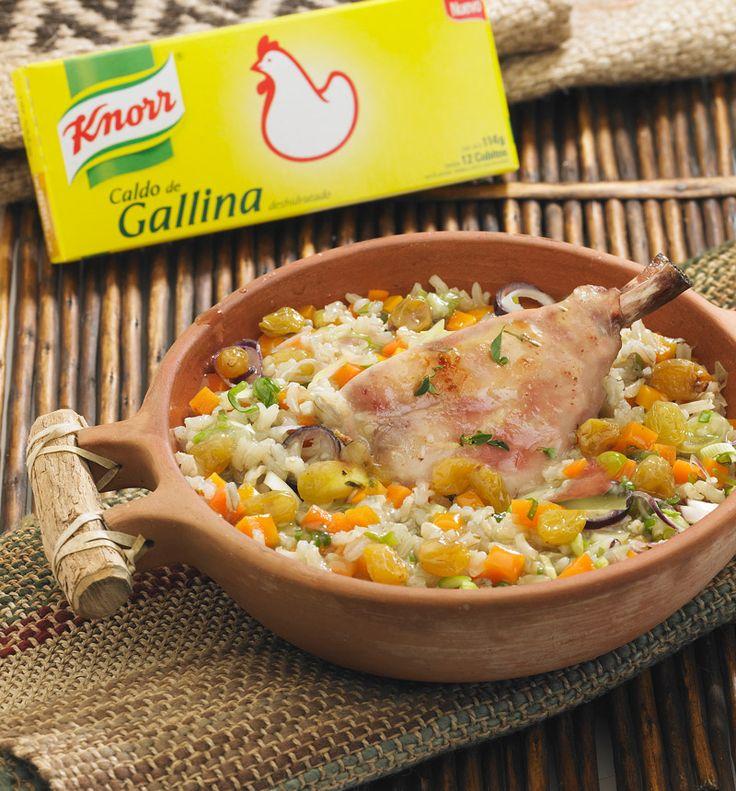 Cazuela de pollo con arroz integral cocina rapida y - Cocina rapida y facil ...