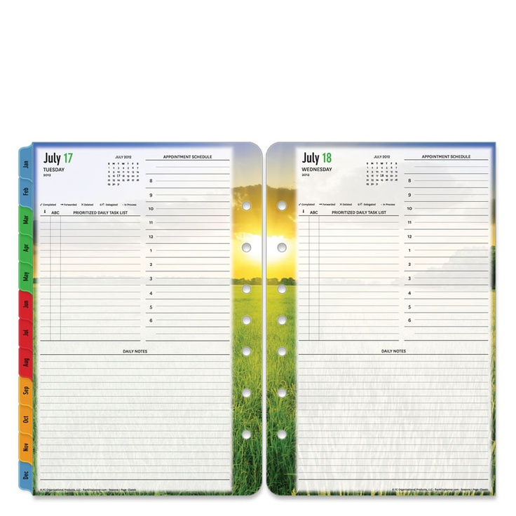 Calendar Planner Refill Pages : Best day planners images on pinterest planner