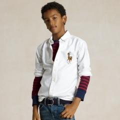 Blake Big Pony Oxford - Boys 8-20 Shirts - RalphLauren.com