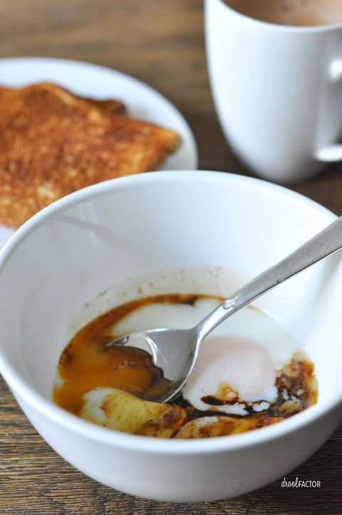 Singapore Style Half Boiled Eggs - Runny yolks FTW!