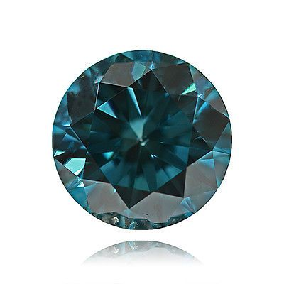 Natural 0.017 ct I2 Fancy Blue Color Round Cut Loose Diamond.. USD 8.99