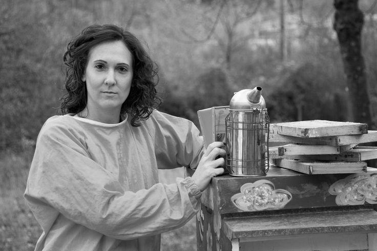 Anna, apicoltrice di Reggio Emilia
