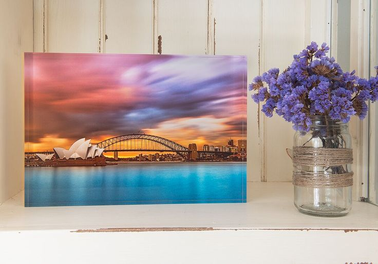 Looking for an awesome gifting option for someone special? Leave them speechless with free standing acrylic blocks - great and modern way to showcase your photos.