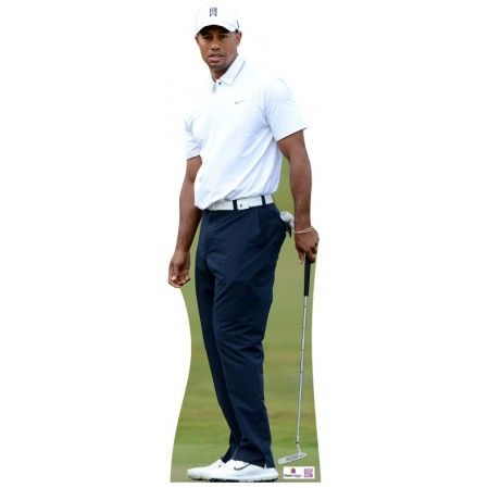 Tiger Woods Cardboard Cutout 706  Height: 180cms - 6ft approx