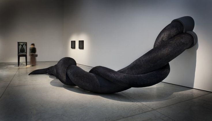 The Gyre Sculpture by Kate MccGwire