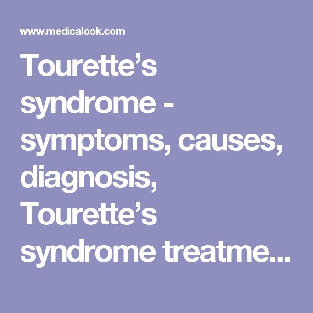 Tourette Syndrome Fact Sheet