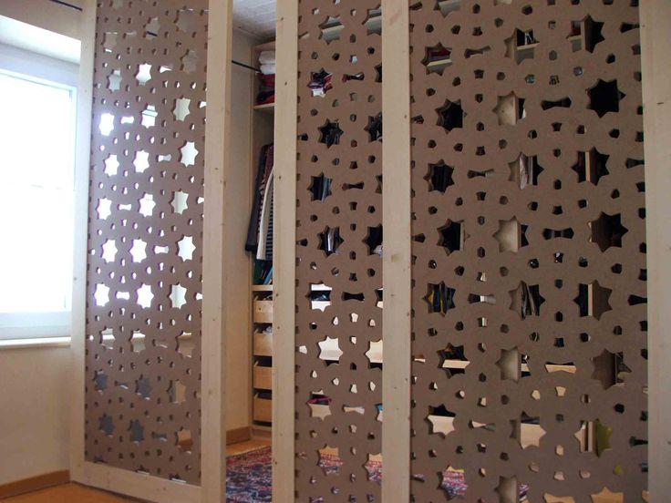 porte coulissante avec motif toile id es pour la maison pinterest blog recherche et. Black Bedroom Furniture Sets. Home Design Ideas