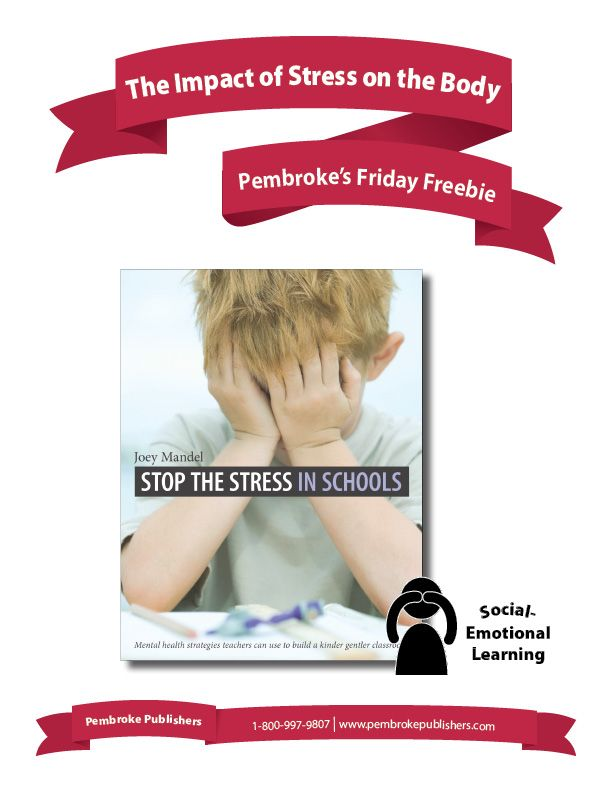 """External stress has an automatic impact on the body, causing a secondary source of anxiety. These activities, from Joey Mandel's """"Stop the Stress in Schools"""", will help children understand stress and their bodies better, and encourage them to engage in calming strategies."""