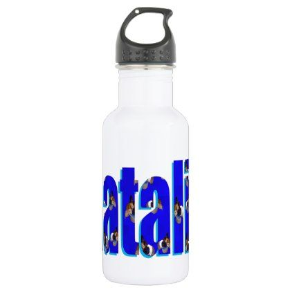 Natalie Logo Made From Guinea Pigs Stainless Steel Water Bottle - decor gifts diy home & living cyo giftidea