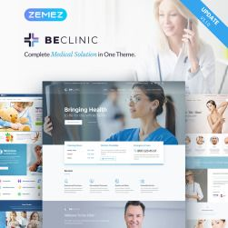 BeClinic Multipurpose Medical WordPress Theme BeClinic