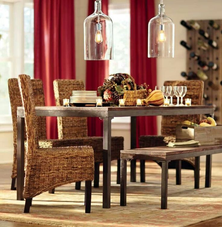 Hereu0027s A Tip: Add A Dining Bench For Extra Guest Seating At The Table. Part 46