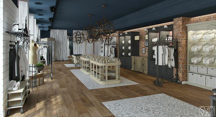 Дизайн интерьера бутика белья