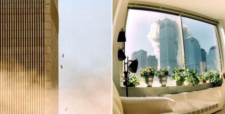 Essas fotos impactantes revelam novos ângulos do horrível dia que mudou o mundo para sempre, o 11 de setembro.