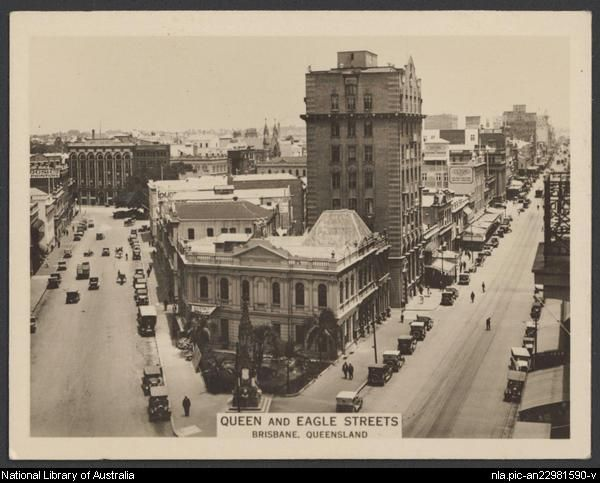 Queen and Eagle Streets, Brisbane, Queensland [picture].