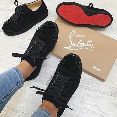 louboutin shoe Louboutin Sneakers Damen