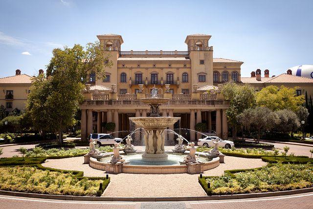 The Palazzo Hotel near Johannesburg, South Africa