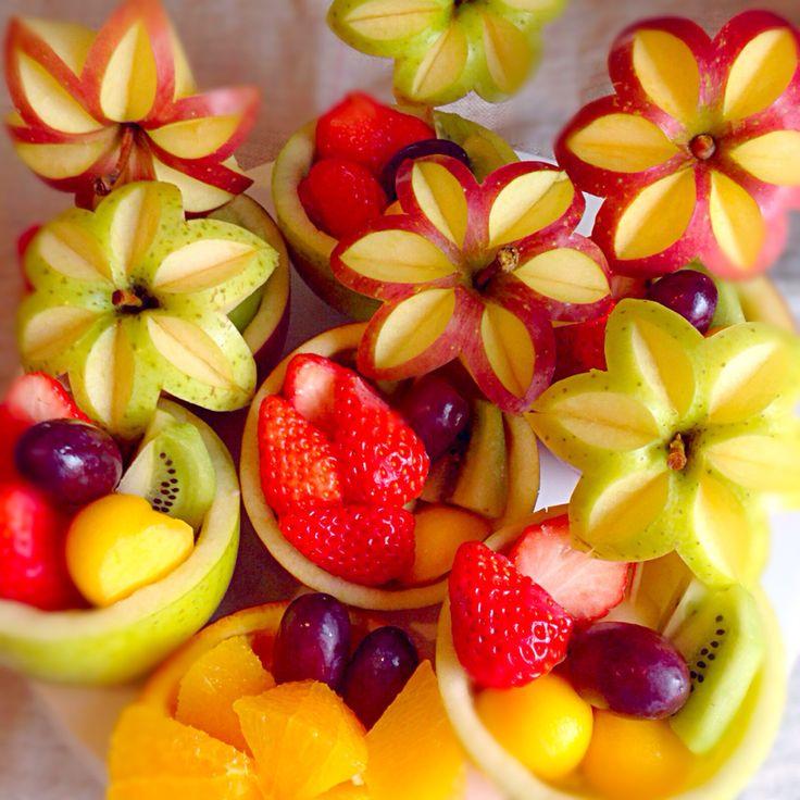 Hana's dish photo 父の退職祝いフルーツ花の盛り合わせ #SnapDish