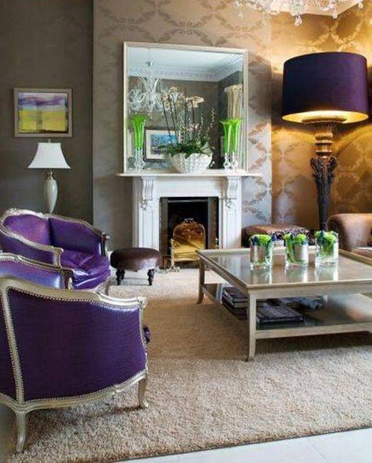 Stunning Purple Lampen im Wohnzimmer   Mobeldesigner.com ...