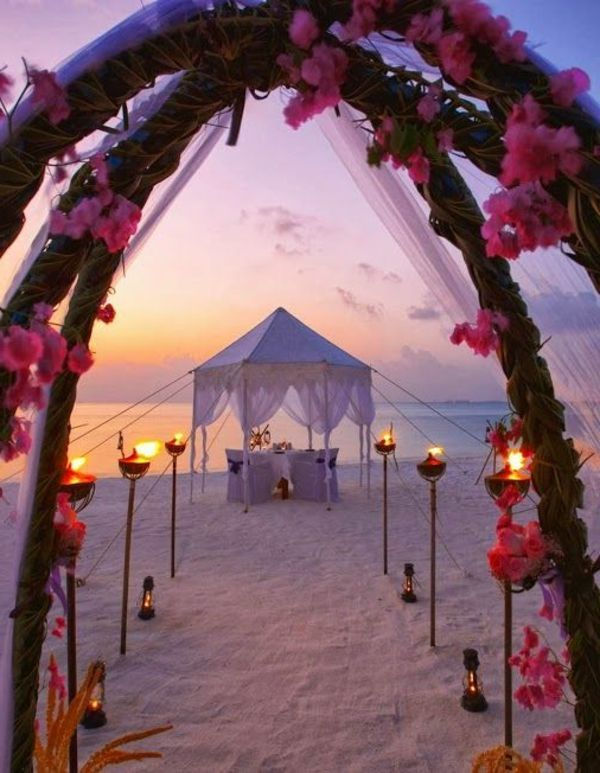 Beach Wedding Photos Traumhochzeit Am Strand Wunderschone Ideen