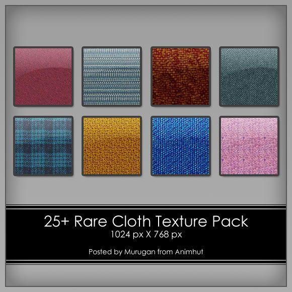 Freebie: 25+ Rare Cloth Texture pack | AnimHuT