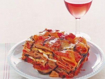 Ricette light: parmigiana di pasta