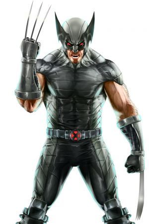 X-Force Wolverine Concept Art from Marvel Puzzle Quiz