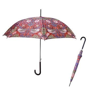 William Morris Strawberry Thief Paraplyer