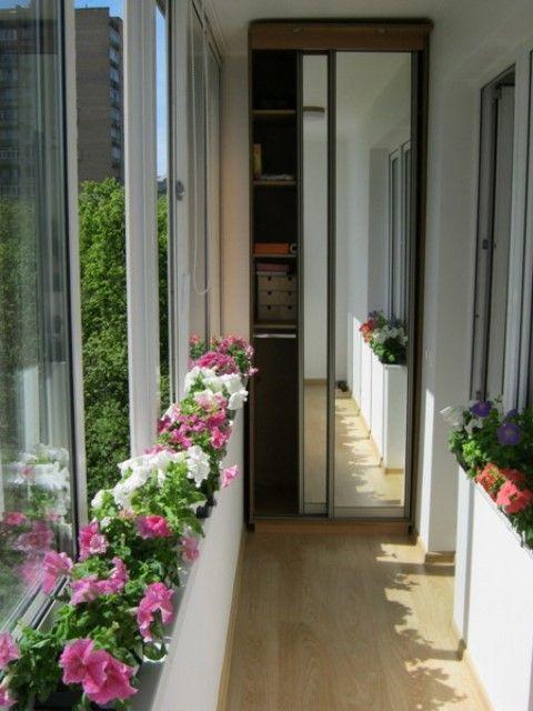 Балкон дизайн интерьера своими руками