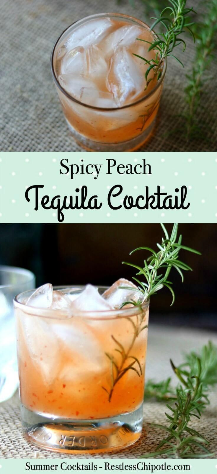 Spicy-sweet, this tequila cocktail is a take on the classic Tequila Sour recipe. Sweet peach flavor is balanced with a tart blast of lime and fiery pepper jelly. From http://restlesschipotle.com via @Marye at Restless Chipotle