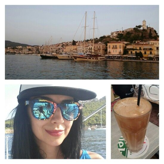 Good morning from Poros! ⛵See the story on emmazeicescu.ro #travel #poros #emmazeicescuro