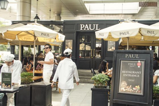 Repin we agreed on a place that recently opened, PAUL Boulangerie et Pâtisserie in Pacific Place Mall, Jakarta ...