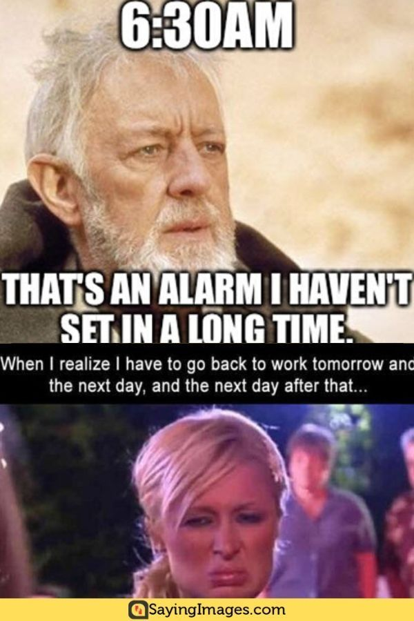 25 Back To Work Memes That Ll Make You Feel Extra Enthusiastic Sayingimages Com Work Quotes Funny Back To Work Quotes Work Memes