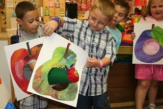 "(For professor: grade this! 4) Story Retelling of ""The Very Hungry Caterpillar"""