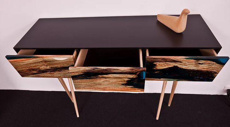 Design wood and resin furniture project : VOLIS By Atelier Insolite.ch Swiss Movie link : https://vimeo.com/164222074   VOLIS project : Meuble design en bois et résine par Atelierinsolite.ch