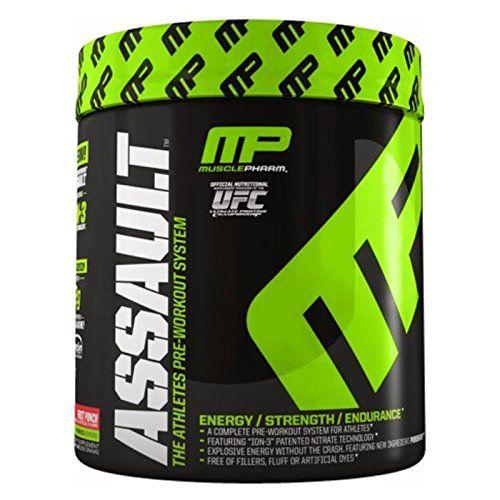 Muscle Pharm Assault Pre-Workout Supplement, Candy Apple, 0.96 Pound - http://www.sportsnutritionshack.com/pre-workout/muscle-pharm-assault-pre-workout-supplement-candy-apple-0-96-pound/