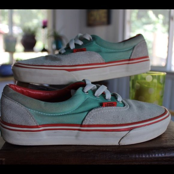 Vans Womens 7.5 Vans Womens Size 7.5. Please see photos for details or comment with questions or the need for additional information. Thanks! Vans Shoes