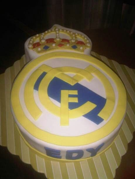 Real Madrid Birthday s Cake Cake, Cupcakes, Yellow ...