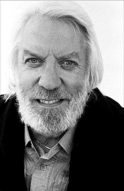 Donald Sutherland, actor. Photographer: Phil Coomes