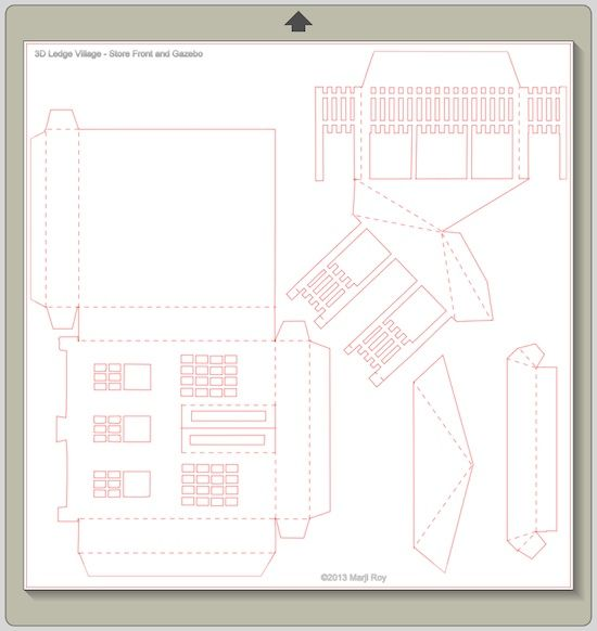 210 Best Images About Cardboard House Templates On