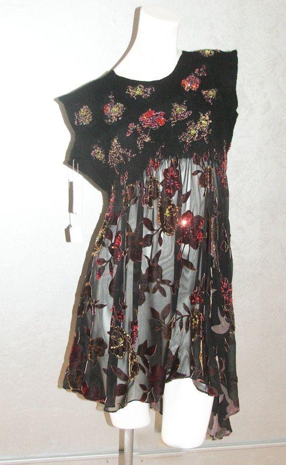 Hoi! Ik heb een geweldige listing gevonden op Etsy https://www.etsy.com/nl/listing/168069285/nuno-felt-tunic-ooak-wool-and-silk