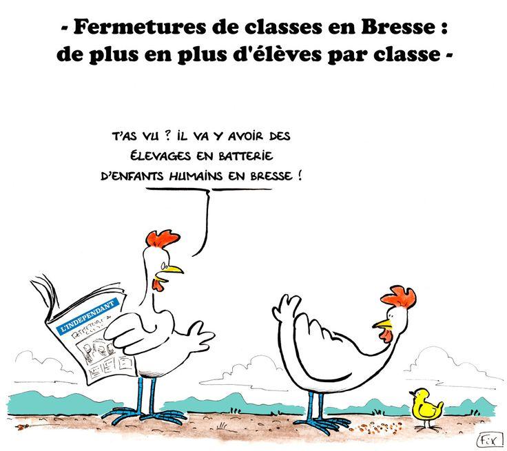 #Fermetures de #classes dans la #Bresse