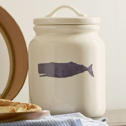 Found it at AllModern - Under the Sea Whale Canister
