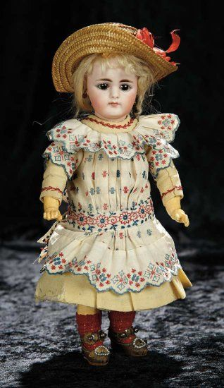 Petite German Bisque Doll, 949... Auctions Online | Proxibid