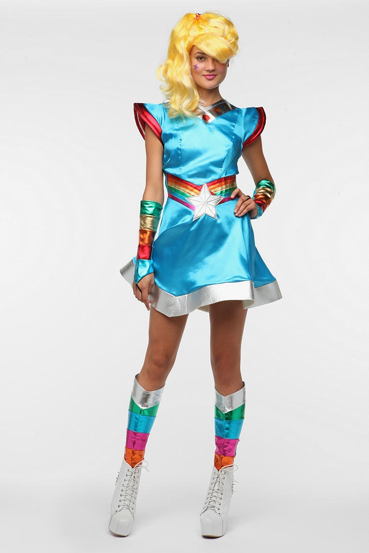 This is the BEST Rainbow Bright Costume I have ever seen!! Nice she doesn't look like a hooker:)