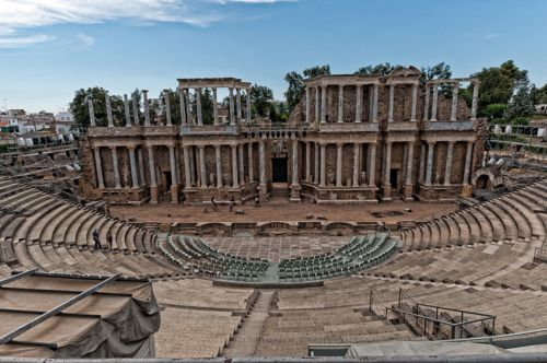 Roman Theater - Mérida, Badajoz | Extremadura | Spain (by yosanties)