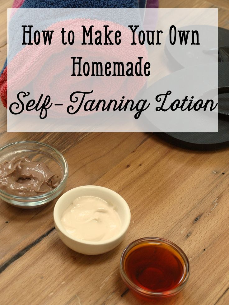 How+to+Make+Your+Own+Homemade+Self-Tanning+Lotion