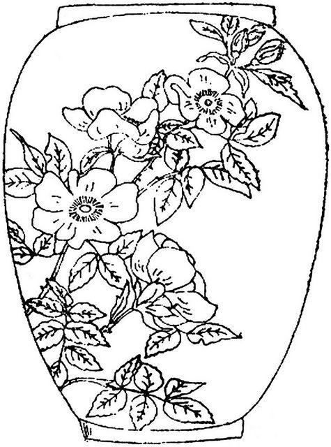 1886 Ingalls Floral Vase by jeninemd, via Flickr