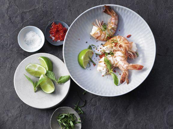 Gedämpfte Garnelen ist ein Rezept mit frischen Zutaten aus der Kategorie Garnelen. Probieren Sie dieses und weitere Rezepte von EAT SMARTER!