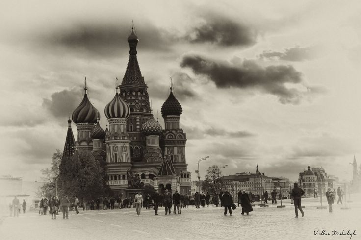 Saint Basil's Cathedral Moscow - Russia